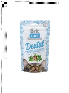 Brit Care Cat Snack Dental Kalkon 50g