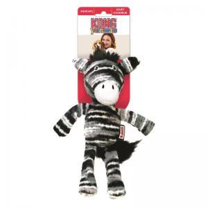 Hundleksak KONG Yarnimals Zebra  19cm
