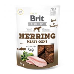 Brit Jerky Snack Herring Meaty Coins 80g