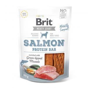 Brit Jerky Snack Salmon Protein Bar 80g