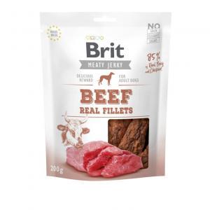 Brit Jerky Snack Beef Fillet 80g