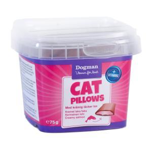 Kattgodis Cat Pillows Krämig Lax 75g