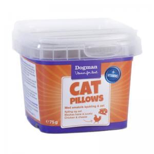 Kattgodis Cat Pillows KycklingOst 75g