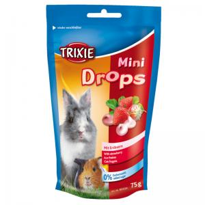 Mini Drops   Jordgubb   75g  