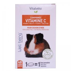 Vitalvéto Vitamin C Tabletter Marsvin