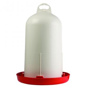 Vattenautomat Cylinder 12 liter Vit och röd