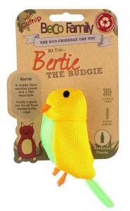 Kattleksak BECO Bertie The Budgie Catnip