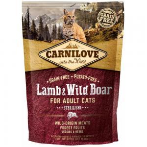 Carnilove CAT Lamb & Wild Boar - for Sterilised 400g