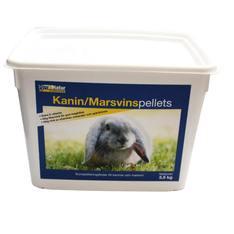 Kanin/Marsvin Pellets 3,5kg Hink