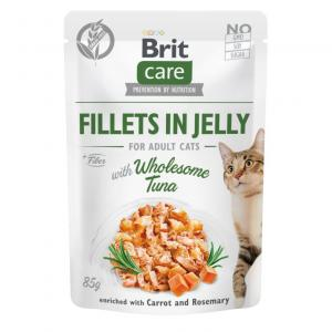 Brit Care Cat Pouch Fillets in Jelly with Tuna 85g