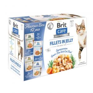 Brit Care Cat Pouch FlavourBox Fillet in Jelly 12x85g
