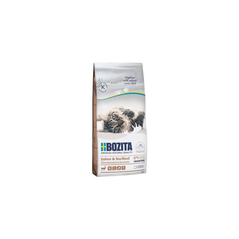 Bozita Katt Indoor & Sterilised Grainfree Ren 10kg