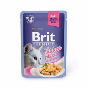 Brit Premium Pouches Jelly Chicken 85g