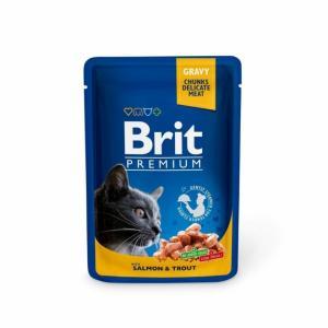Brit Premium Portionspåse Lax/Forell 100g