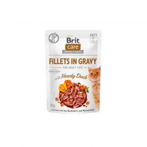 Brit Care Cat Pouch Fillets in Gravy with Duck 85g
