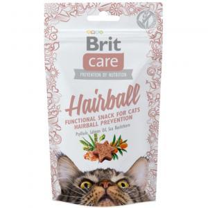 Brit Care Cat Snack Hairball Anka 50g