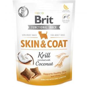Brit Functional Snack Skin&Coat Krill 150g