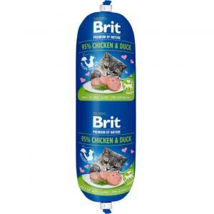 Brit Köttkorv KATT Chicken & Duck 180g
