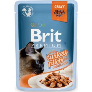 Brit Premium Pouches Gravy Turkey 85g
