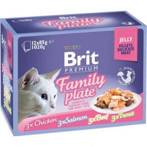 Brit Premium Pouches Jelly Familjeförp 12-pack