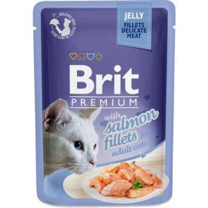 Brit Premium Pouches Jelly Salmon 85g
