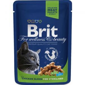 Brit Premium Portionspåse Kycklingbitar Ster 100g
