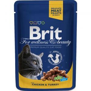 Brit Premium Portionspåse Kyckl/Kalk 100g
