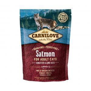 Carnilove CAT Salmon - Sensitive & Long Hair 2kg