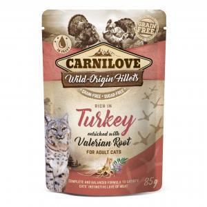Carnilove CAT Pouch Turkey Valerian 85g
