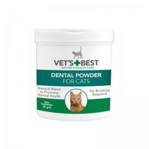 Vets Best Tandvårdspulver till katter 45g