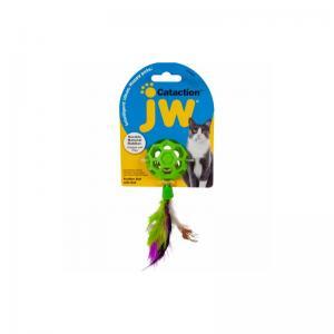 JW Cataction Fjäderboll med klocka