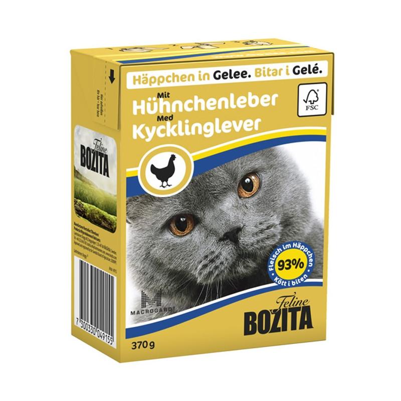 Bozita Tetra Kycklinglever Gelé  370g