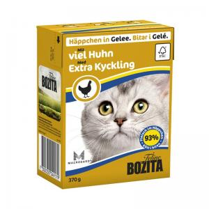 Bozita Tetra Bitar Kyckling Gelé 370g