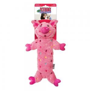 Hundleksak KONG Low Stuff Speckles Pig