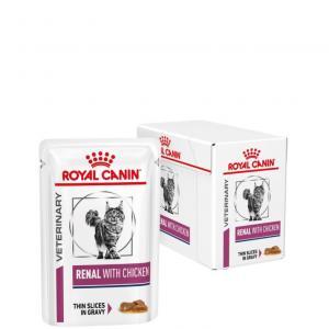 RCV Cat Renal Chicken wet 12x85g