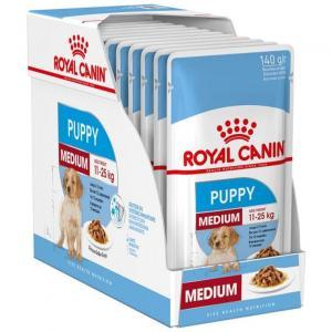 RC Wet Medium Puppy 10x140g