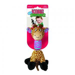 Hundleksak KONG Tugga Stretchezz Giraff