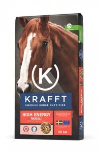 KRAFFT High Energy Muesli 20kg Röd