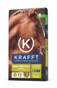KRAFFT High Protein Müsli 20kg Grön