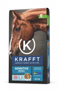 KRAFFT Sensitive Müsli 20kg (Blå)