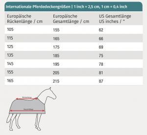 Waldhausen Skrittäcke 100gr   Marin   135cm  