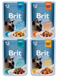 Brit Premium Pouches Gravy Familjeförp 12-pack