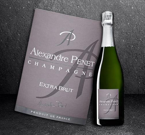 La Maison Penet - Cuvée Alexandre Penet Extra Brut HALV-FLASKA