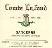 Comte Lafond - Sancerre Rouge 2014 (red)