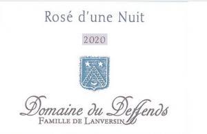 Domaine du Deffends - Rosé d'une Nuit 2020 (rosé)