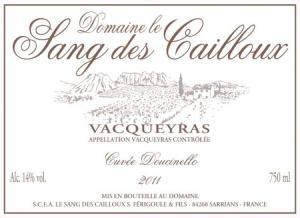 """Le Sang des Cailloux - Cuvée Tradition """"Azalaïs"""" 2018 (rött) MAGNUM"""
