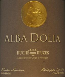 Mas des Volques - Alba Dolia 2019 (vitt)