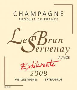 Le Brun-Servenay - Cuvée Exhilarante Grand Cru Extra Brut 2009