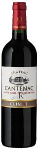 """Château Cantenac - St Emilion Grand Cru """"ClimAT"""" 2018 (rött)"""