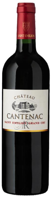 Château Cantenac - St Emilion Grand Cru 2016/2017 (rött)